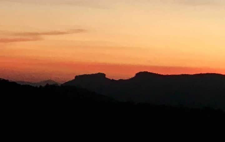 Mais linda vista e por do sol de Campos do Jordão