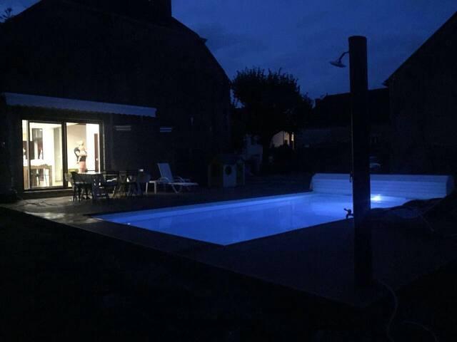 - de 2h de Paris - Belle maison à 25 km de Chablis - Beugnon - Dom