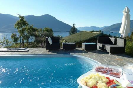 Villavera Ferienhaus Lago Maggiore - Brissago TI