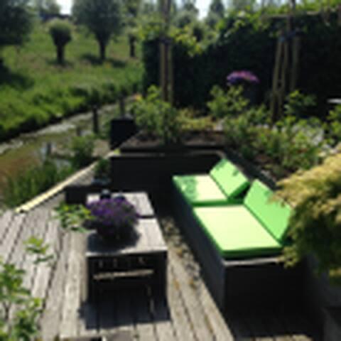 Vrijstaande villa aan het water - Ouderkerk aan de Amstel - 別荘