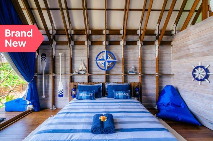 Enchanting Bamboo Cabin Nested in Umalas Hip Vibe