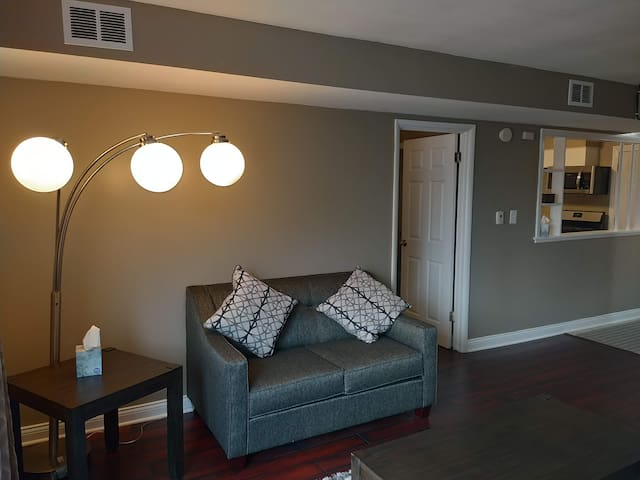 Comfortable apartment 5 min from O'Hare/Rosemont