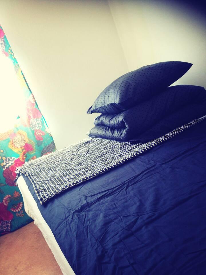 Cumfy bed, 120x200 cm