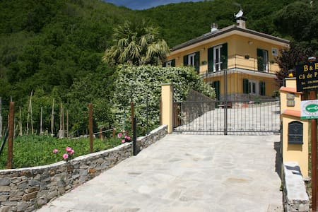 "Bed and Breakfast ""Ca' de Pria"" - Casarza Ligure - Bed & Breakfast"