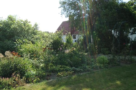 Charming garden close to the sea. - Ystad