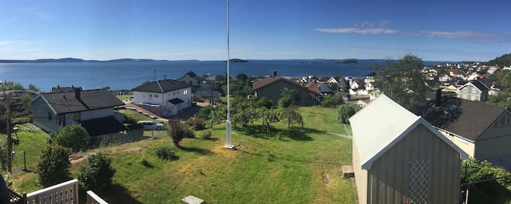 House with a great view of the Oslofjord