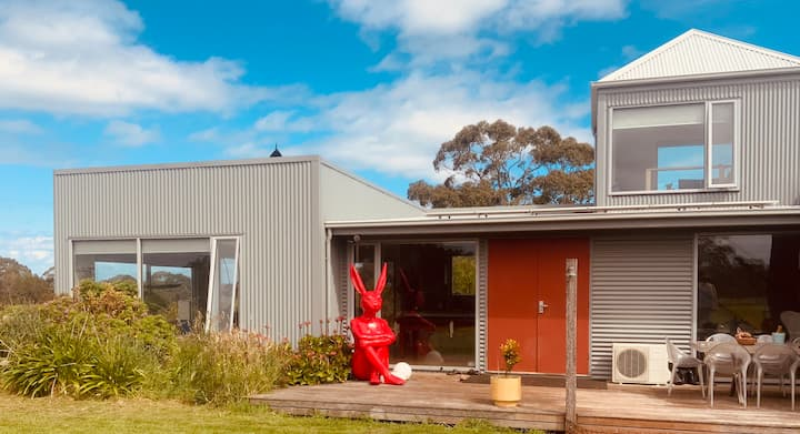 'Golightly' a peaceful retreat in the Otways.