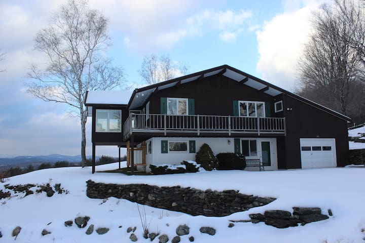 Fantastic Mountain Views, Vermont - Town of Rockingham - Huis