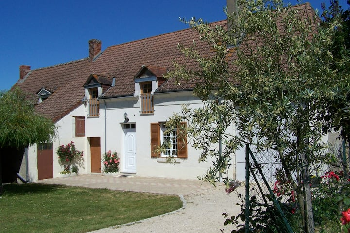 little cottage, in the loire valley