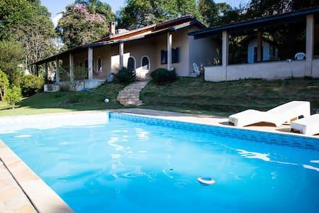 *Pousada CampoAmor. Chácara piscina/churrasqueira