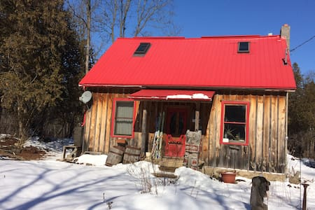 Rustic comfy character home, village, 16 acres - Eden Mills