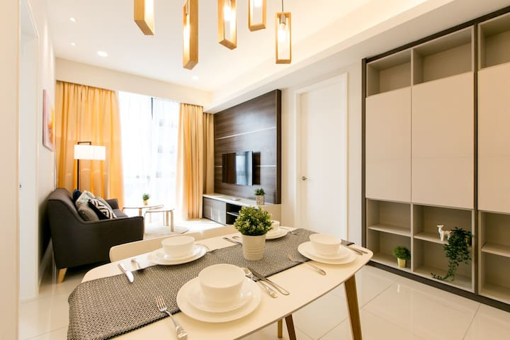 2B+1B KL City+Jln Alor+Bukit Bintang @Luxe Home