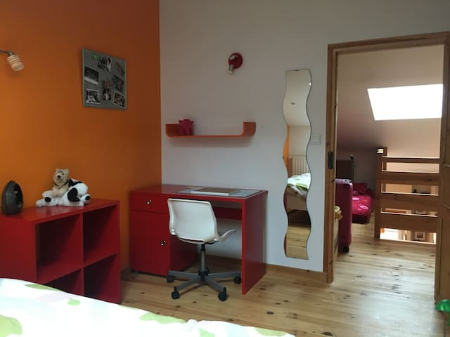 chambre privée charmante au cœur du village