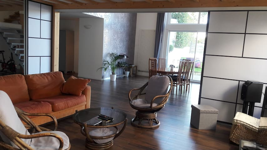 Maison spacieuse au coeur du vignoble nantais - Vallet - Dům