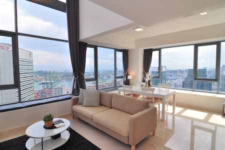 [AI] Scenic City Center High-Floor LOFT, 1-4 Guest - Singapura