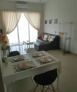 B'Bella Homestay 2BR Skyriverfront condo,with WIFI