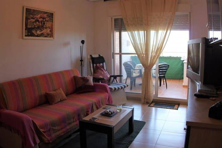 Bel appartement a côté plage naturiste Cabanes - Cabanes - Leilighet