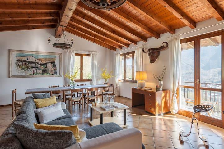 Fienile Ronchetto a due passi dal Lago di Garda - Case Nuove - Rumah