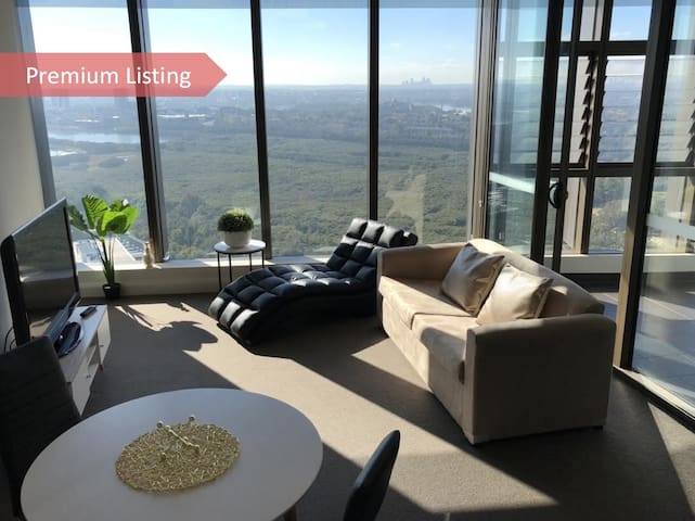 Olympic Park Luxury 2 Bed Apt CBD View -Aust Tower