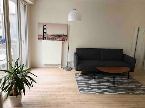 Superb apartment with free parking on the premises