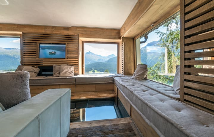 Sankt Moritz - Charming apartment in a villa