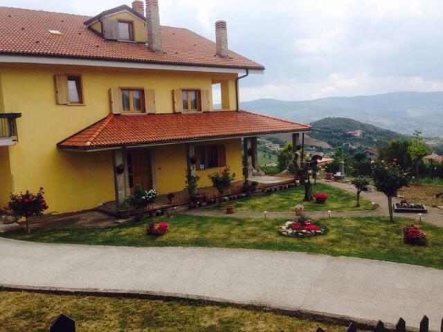 Magnifica villa in montagna