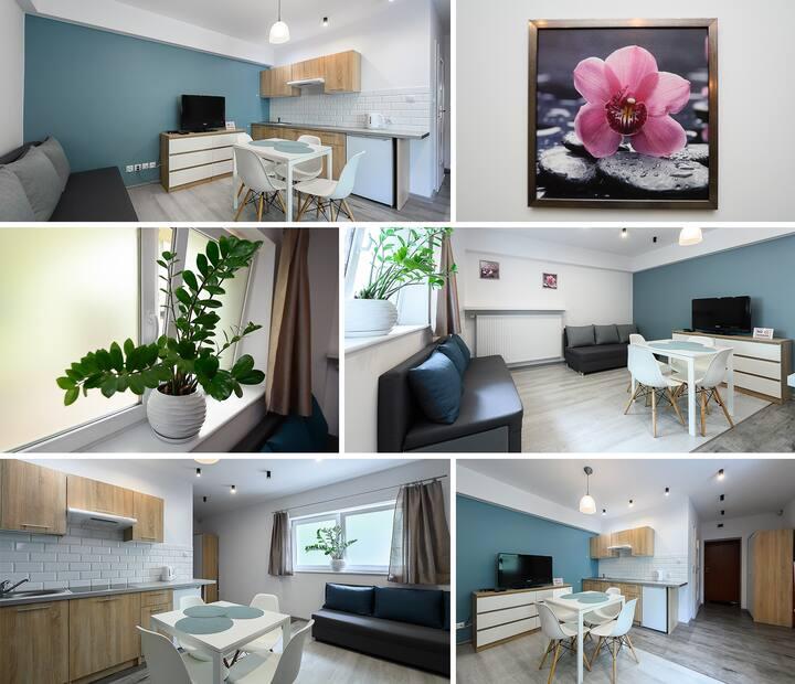 STUDIO-Port Łódź Apartment by PinPoint
