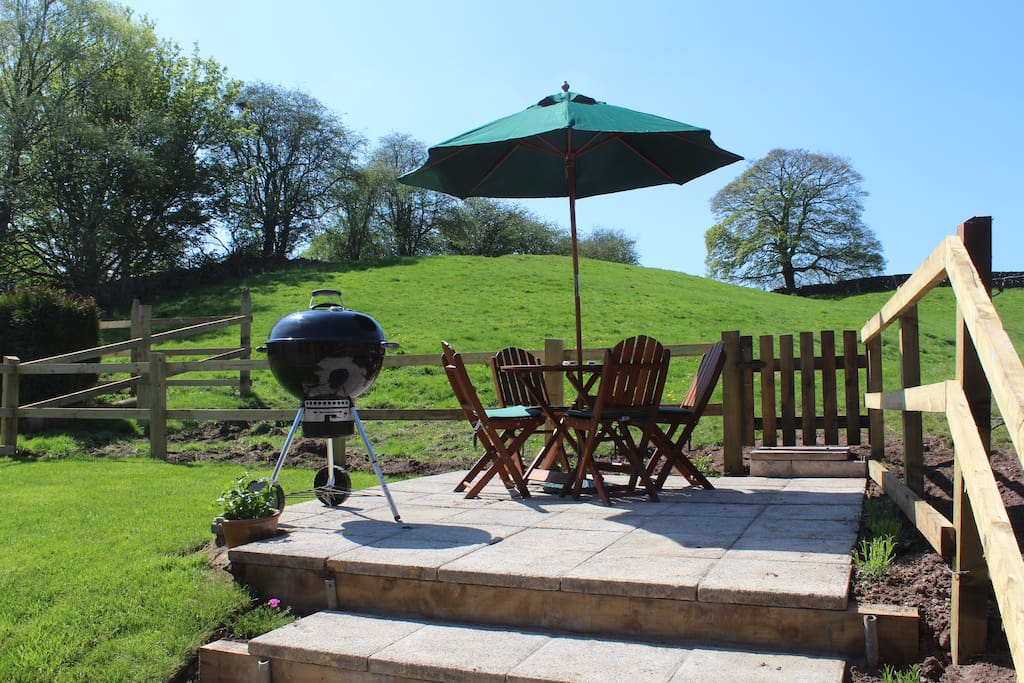 sunny spot for a bbq