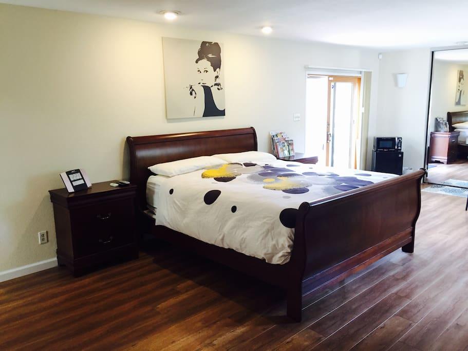 Master Bedroom Own Entrance Bath Maisons Louer Fremont Californie Tats Unis