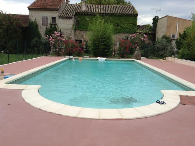 Villa PMR en Provence avec piscine - Violès - Casa de camp
