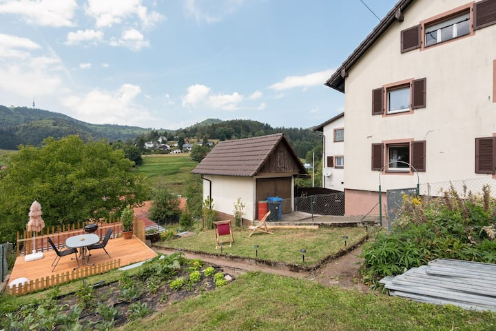 Soothing Apartment in Malsburg-Marzell with Private Garden