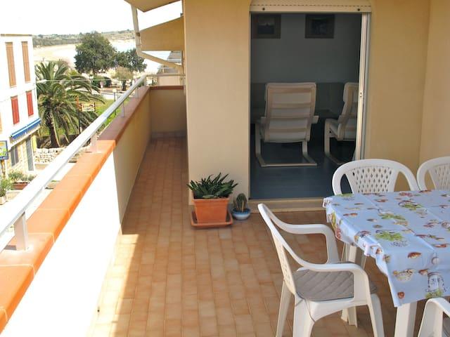 Sea view Attic 50m from the beach - Sampieri - Apartamento
