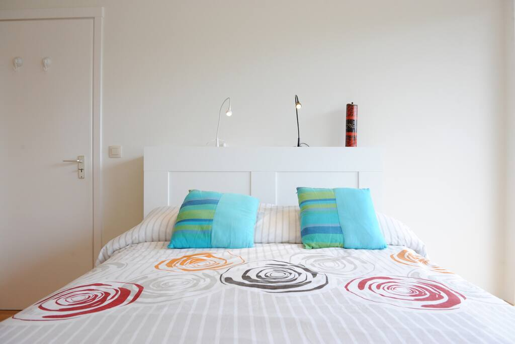 Comfortable double size bed