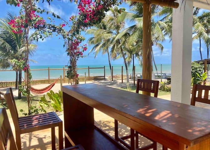 Muriú - Casa a Beira Mar com Piscina