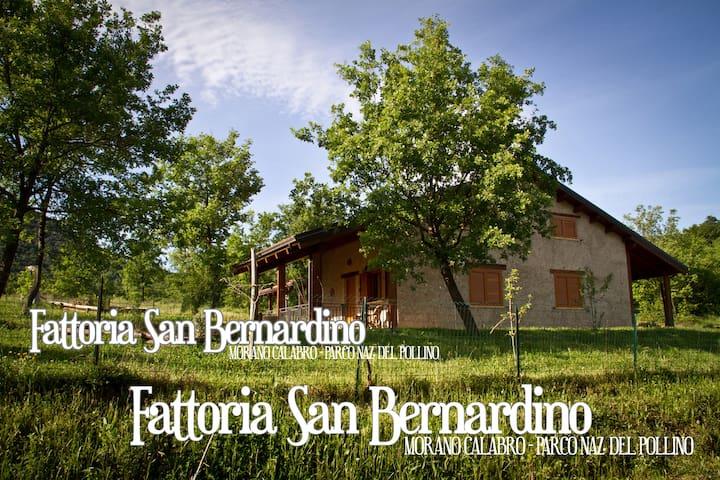 Chalet in private estate - Fattoria San Bernardino - Morano Calabro - Casa de campo