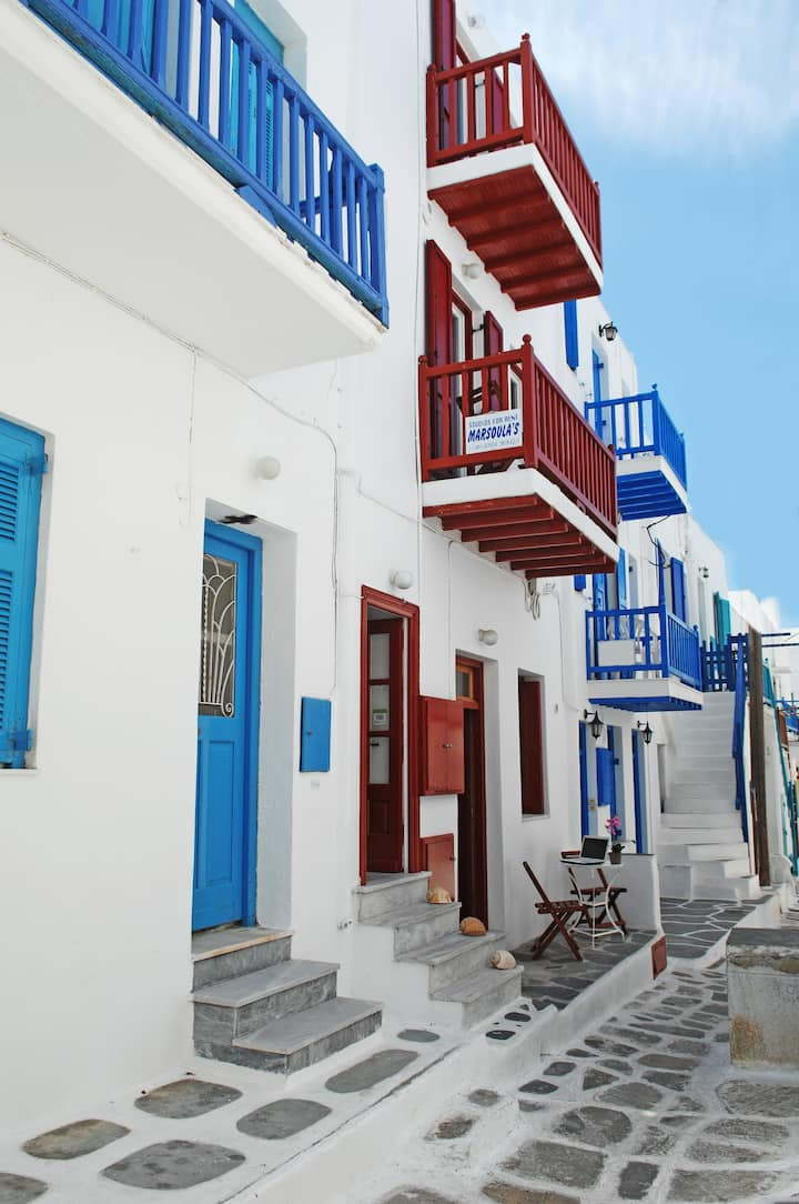 Mykonos city center