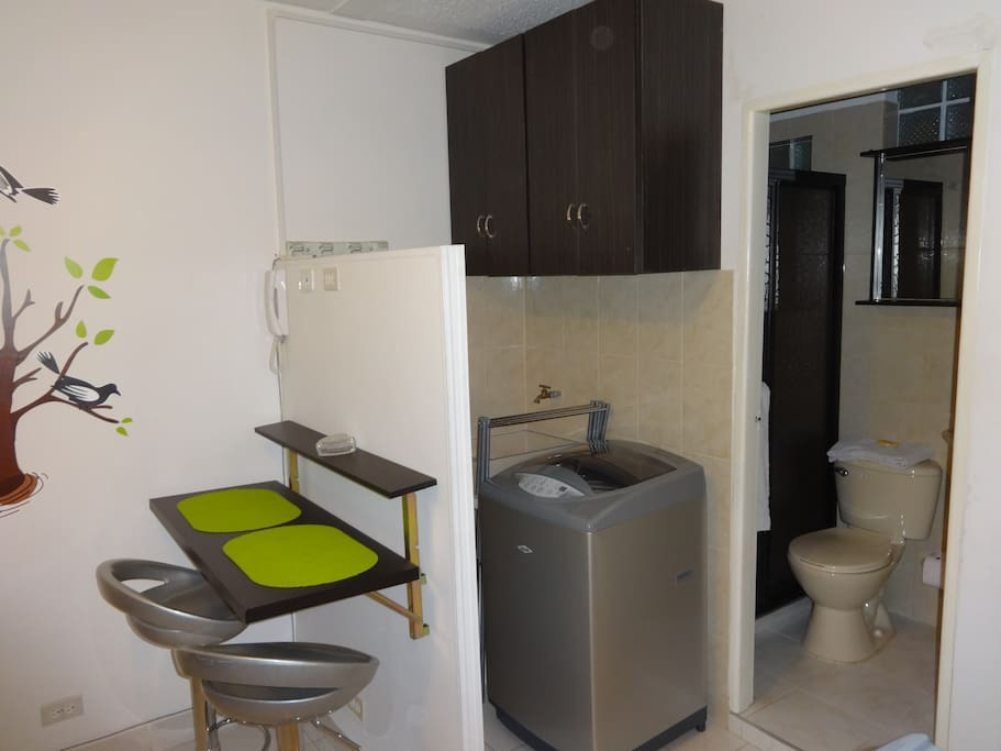 Cozy 1 Room Apartment In Laureles Apartments For Rent In Medellin Antioquia Colombia