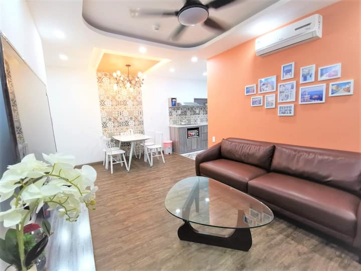 Muong Thanh Apartment - 2Bedroom Luxury Orange