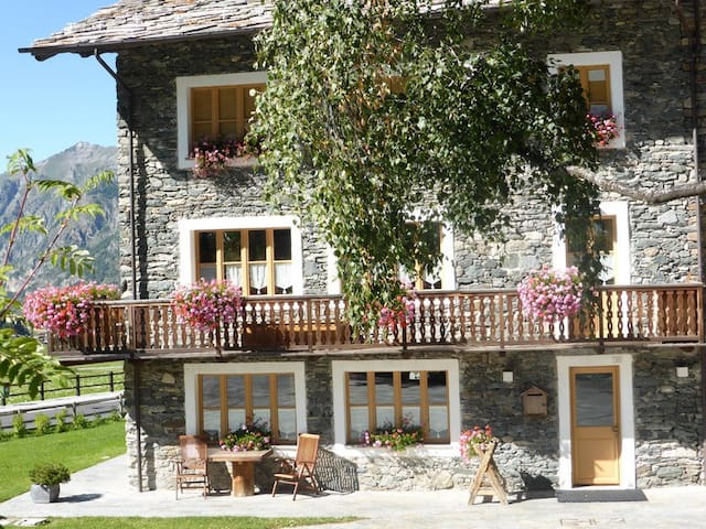 Cosy studio in the mountains - Cogne - Apartamento