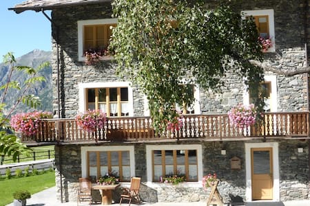 Cosy studio in the mountains - Cogne - Flat