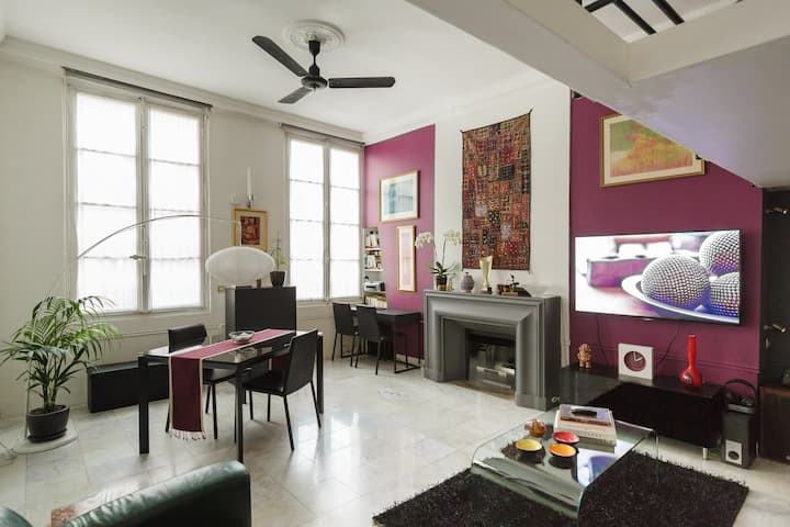 ❤️️️Loft 484Sq ft Place Des Vosges Le Marais Paris