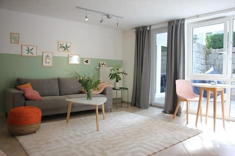 抵達Biberach並感覺良好的完整公寓