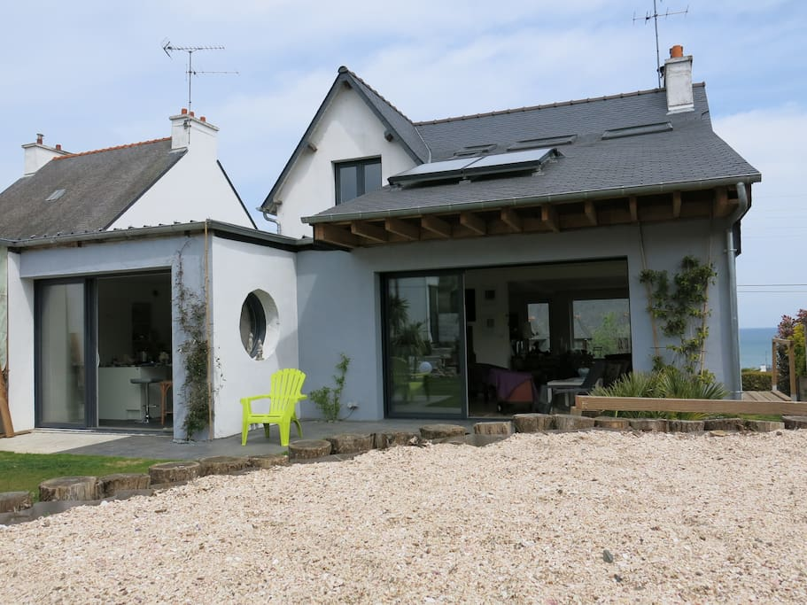 Les albatros chambre d 39 h te houses for rent in pl rin for Chambre d hote brittany