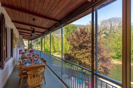Gregory River House favolosa terrazza sul fiume - Gavardo - Talo