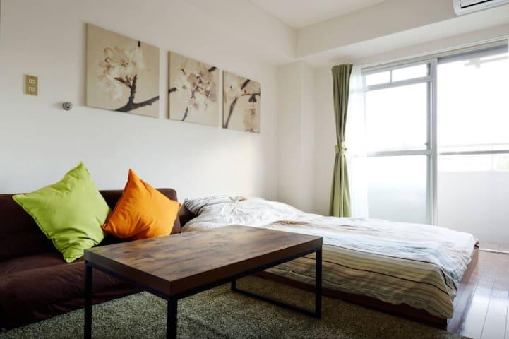 Osaka Parkside Studio 4B - Osaka - Apartment