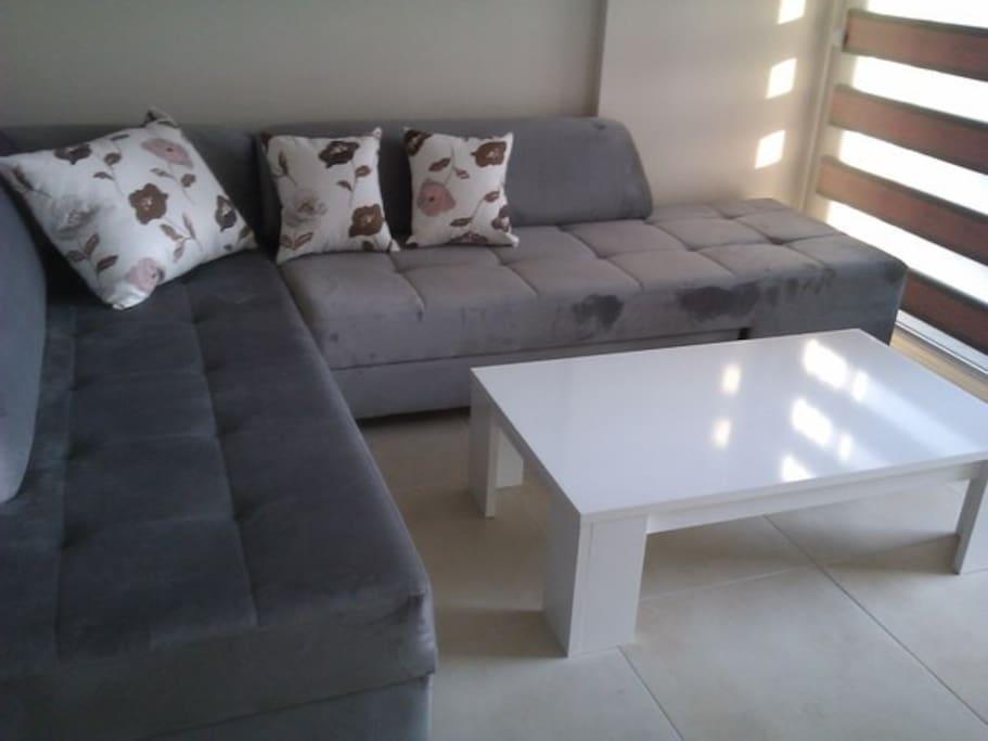 Прекрасный вид на крепость с дивана