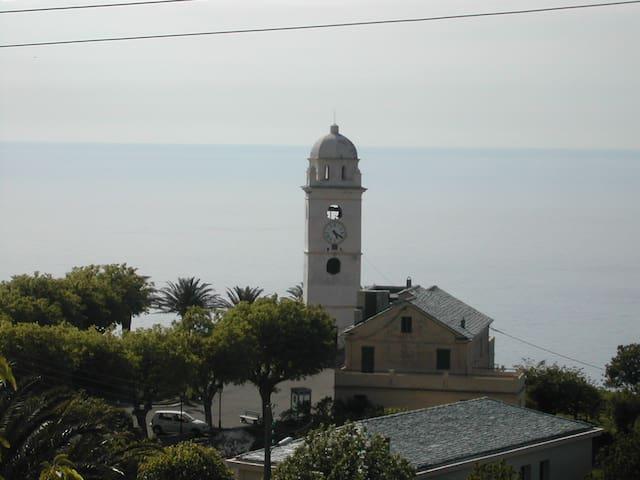 T1/2 Maison de village à Canari dans le Cap Corse