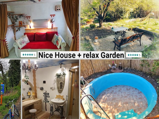 Fancy House + Relax Garden in de luxe stlye