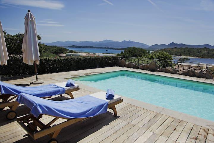 Villa Salina Bamba sea view and pool - Salina Bamba - Villa