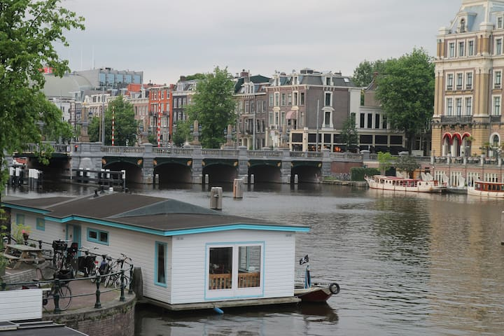 Family Houseboat in City Center - Ámsterdam - Barco
